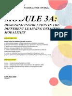 Module 3A Study Notebook