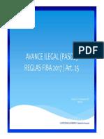 Avance Ilegal (pasos) versión 3.0