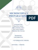 Práctica No 3-Microscopio y preparaciones