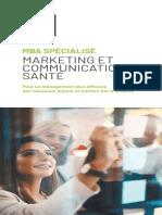 MBA Marketing et Communication de la Santé
