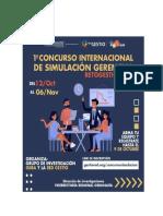 1ER CONCURSO INTERNACIONAL DE SIMULACIÓN GERENCIAL