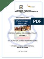 Informe Académico DOCTRINA POLICIAL