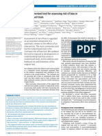 BMJ Volume issue 2019 [doi 10.1136%2Fbmj.l4898] Sterne, Jonathan A C; Savović, Jelena; Page, Matthew J; Elber -- RoB 2- a revised tool for assessing risk of bias in randomised trials