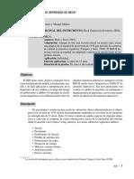 0. BDI - Interpretación y Test