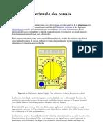 Depannage Electronique_Recherche des pannes