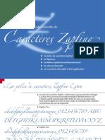 Zapfino Tips F