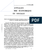 Annales d'histoire économique et sociale - Revue trimestrielle - Tome IV - Annee 1929 by Marc Bloch - Lucien Febvre (Directeurs)