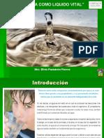 2. El  agua como líquido vital