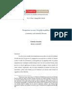 Percepciones en torno a las políticas públicas y territorios en la ciudad de Rosario