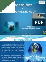 4. Uso eficiente y racional del agua