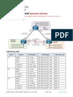 11.1.3 Lab - Implement MP-BGP - ILM