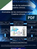 Autosomas, Cromosomas, anomalías.pptx