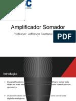 Amplificador Somador