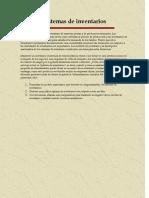 2.2. Sistemas de Inventario