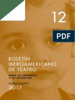 Boletin Iberoamericano de Teatro.