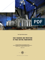Fault diagnosis and protection of phase shifting transformers