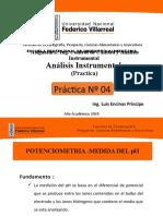 PPT-PRACTICA 04- INSTRUMENTAL-MEDIDA DEL PH