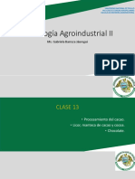 CLASE 12 PROCESAMIENTO DEL CACAO 2