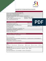 Diagnóstico Internacionalización