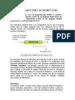 1.4. TRADUCTOR Y SU ESTRUCTURA, 1.5 FASES DE UN COMPILADOR.docx