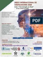 Convocatoria 2do congreso internacional de Investigadores