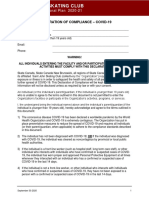 sjsc operational plan declaration of compliance