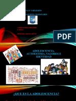 GUIA Nº 3 ADOLESCENCIA, IDENTIDAD Y AUTOCONOCIMIENTO