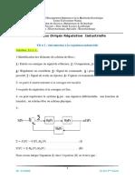 TD n°1 Solution Introduction à la régulation industrielle.