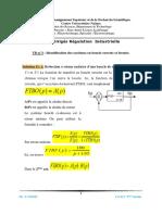 TD n°3 Solution  Identification des systèmes en boucle ouverte et fermée.-converti