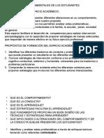 Presentación PROGRAMA. COMPORTAMENTALES.