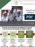 Calidad COCASEP 2013