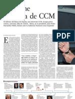 Artículo La noche toledana de CCM El Pais 30-1-2011