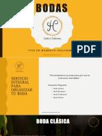Presentacion Boda HC 2019