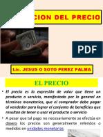 FIJACION DEL PRECIOS