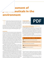 Risk assessment pharmeceutical in the Environment