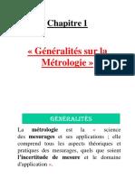 Métrologie_Chapitre 1