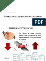 Aula 4 - Conceitos de distúrbios nutricionais