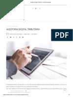 Auditoria Digital Tributária – Portal de Auditoria