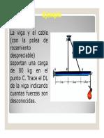 EJERCICIOS DE APOYO - EQUILIBRIO