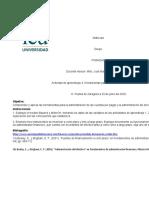 Actividad de aprendizaje 4. Herramientas para la administración de las cuentas..xls