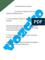 CODIGO DE PLATILLOS HECHOS CON LOS PECES 17 PLATILLOS