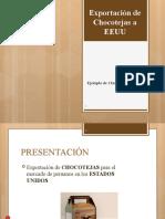 EXPORTACIÓN DE CHOCOTEJAS