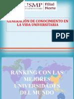 Semana 4. Generación de conocimiento en la vida universitaria (1)