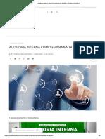 Auditoria Interna como Ferramenta de Gestão – Portal de Auditoria