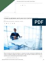 Como elaborar um Plano de Contas Contábil – Portal de Auditoria