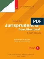 Jurisprudencia Constitucional - Tomo 1