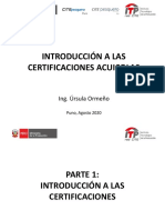 Certificaciones - CITE Ilo - Parte 1