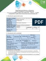 Guía de actividades  - Tarea 2 - Cuadro comparativo y aplicación de técnicas de biorremediación