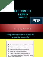 CLASES  DE GESTION DE TIEMPO DEL PROYECTO FIEE (1)