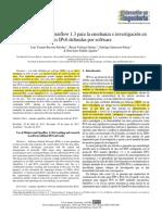 2017-Articulo de Colombia-Uso de Mininet y Openflow 1.3 para la enseñanza e investigación en redes IPv6 definidas por software (1)